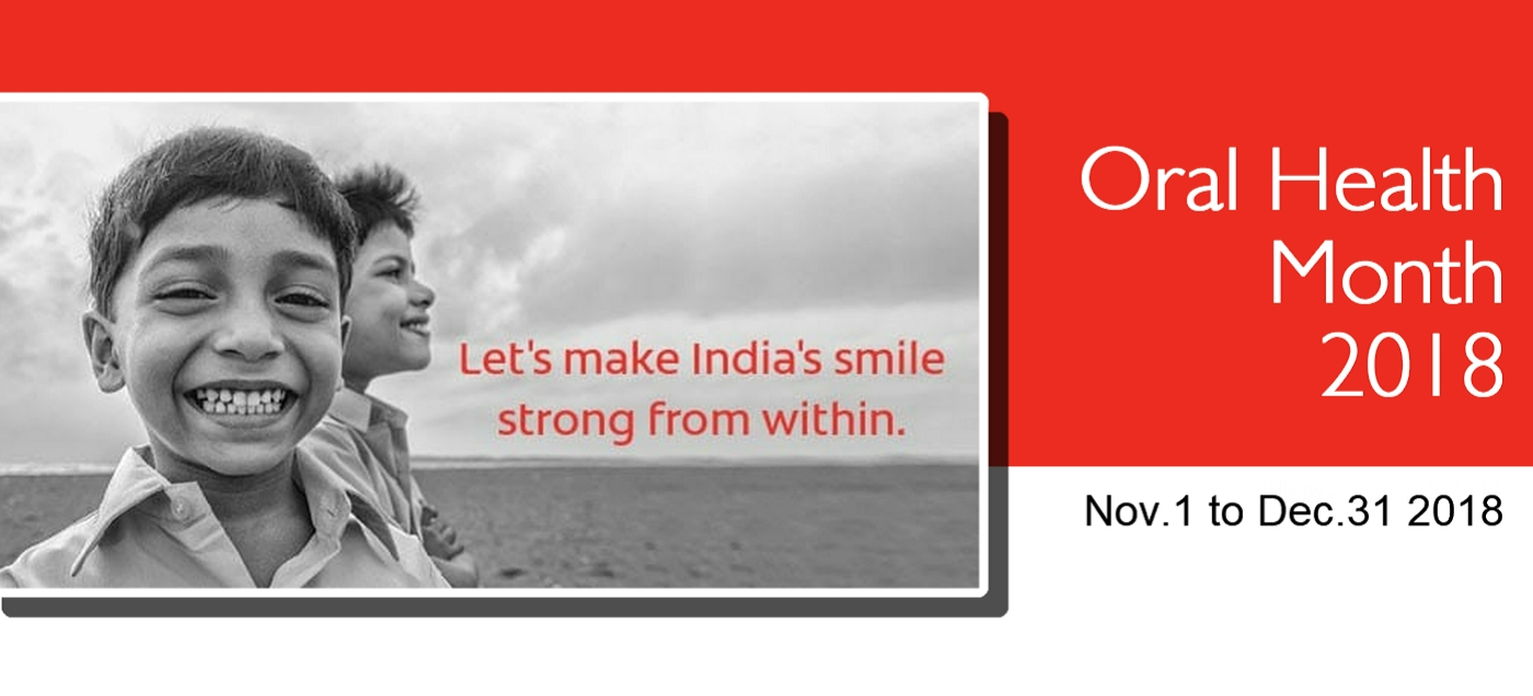 Colgate Oral Health Month 2018 Poster