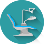 Dental Chair Green Icon - Sujay's Dental Care