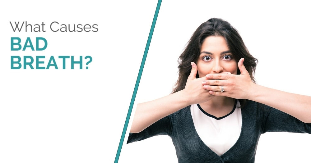 What Causes Bad Breath - Blog Post Cover Image