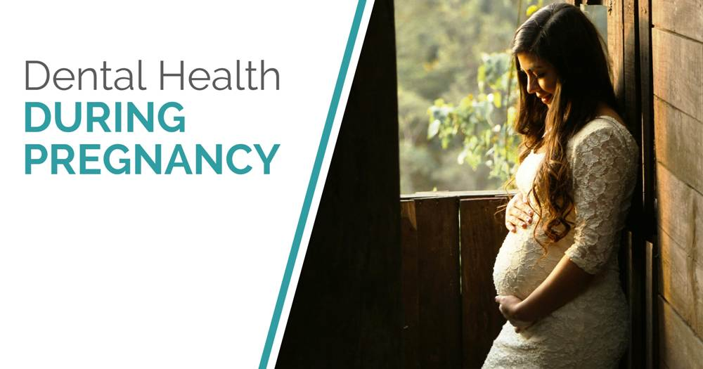 Dental Health During Pregnancy - Blog Post Cover Image
